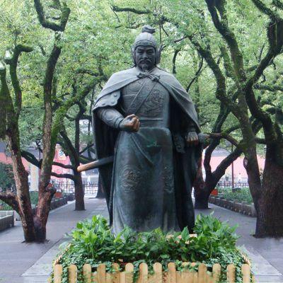铜雕岳飞雕塑