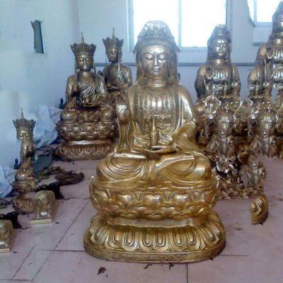铜雕观音雕塑