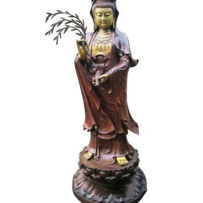 大型铜雕观音雕塑