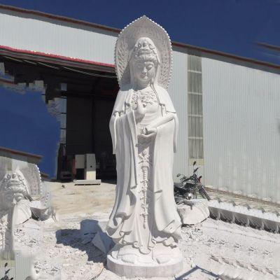 观音菩萨大理石雕塑