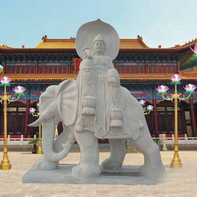 观音菩萨石雕佛像