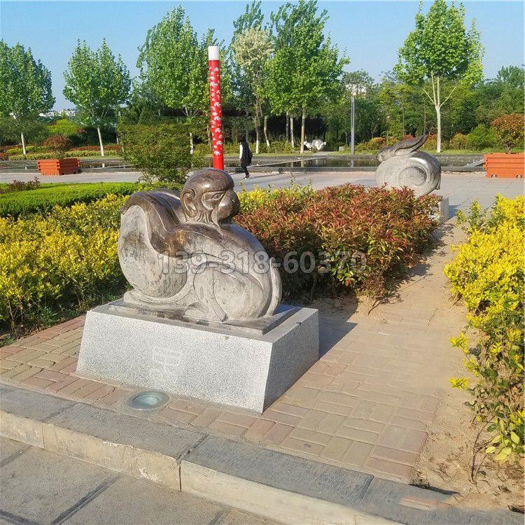 款抽象12生肖石雕(款五)