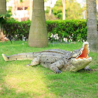 园林仿真鳄鱼