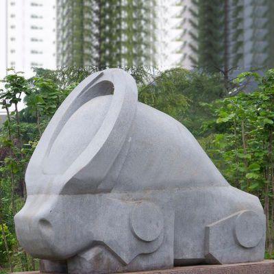 抽象12生肖石雕(款四)