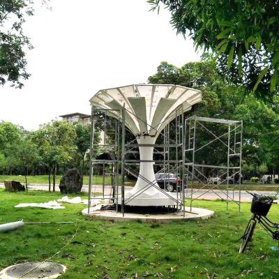公园不锈钢树形景观