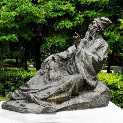 苏轼雕像古代历史名人铜雕