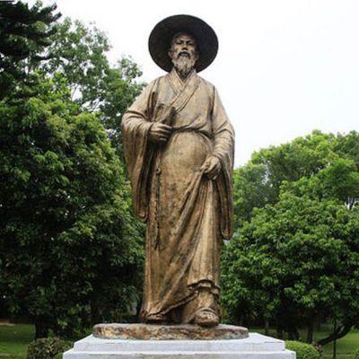 苏东坡铜雕像