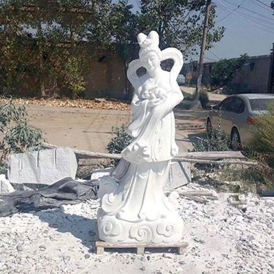 嫦娥汉白玉石雕