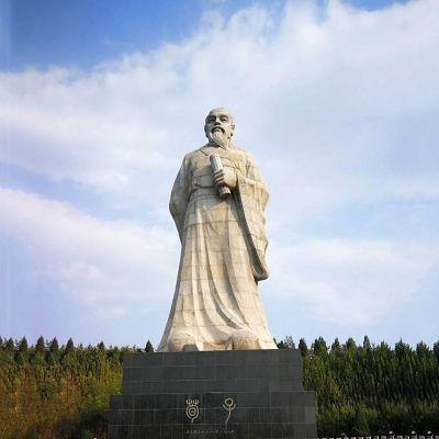 历史名人荀子雕塑