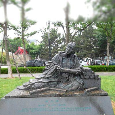 司马迁铜雕