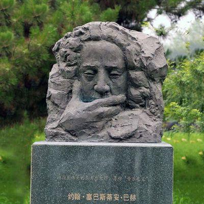巴赫头像雕塑