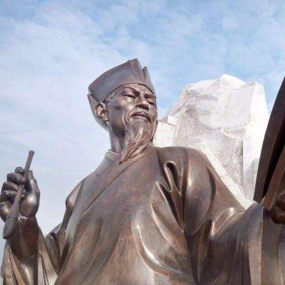 欧阳修铜雕塑