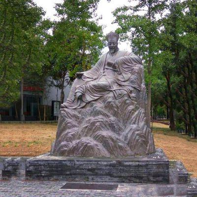 欧阳修铜雕塑像