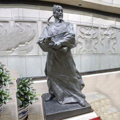 吴道子铸铜雕塑