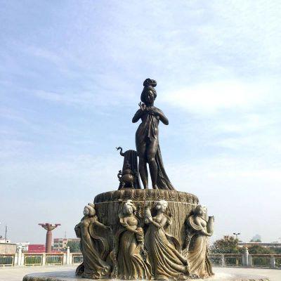 贵妃出浴景观雕塑