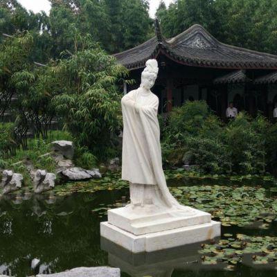 杨贵妃杨玉环石雕像