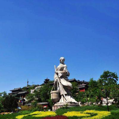 文姜汉白玉石雕像