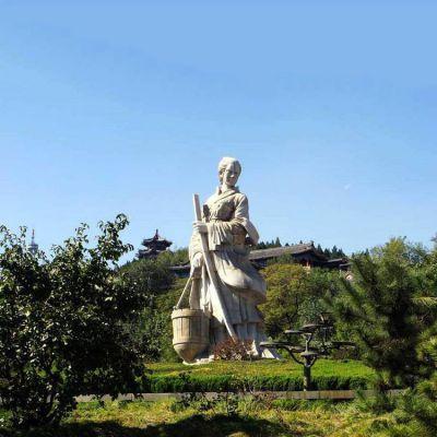 文姜石雕塑像