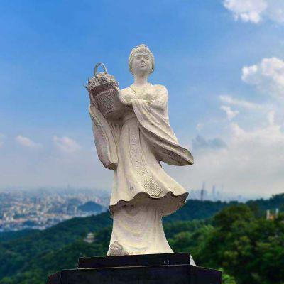 虞姬景观石雕像