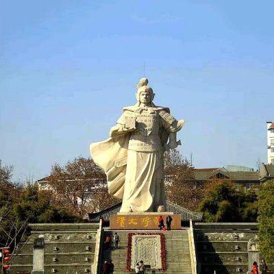 韩信拜将景观石雕塑