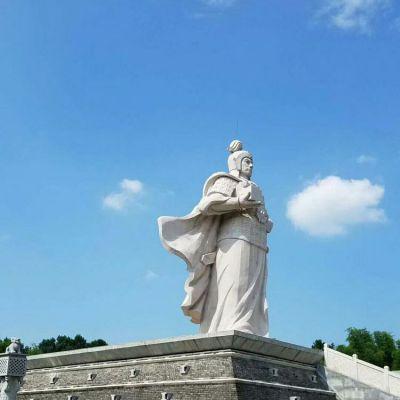 韩信汉白玉石雕