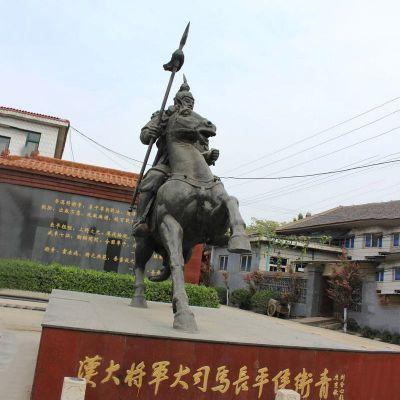 卫青铜雕塑像