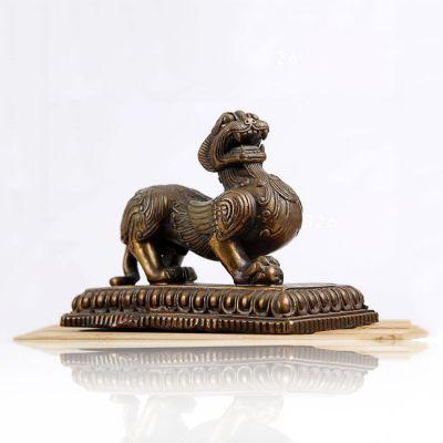 铸铜狴犴雕塑