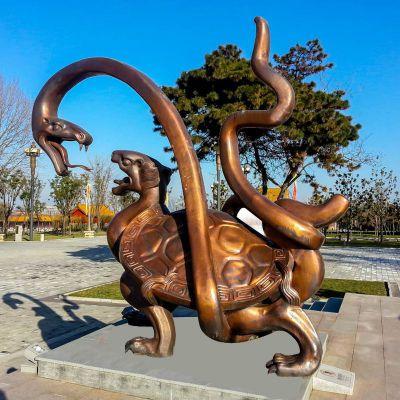 玄武铸铜雕塑
