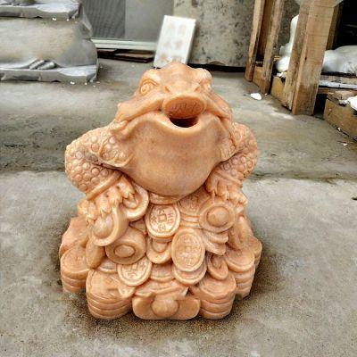 金蟾喷水雕塑