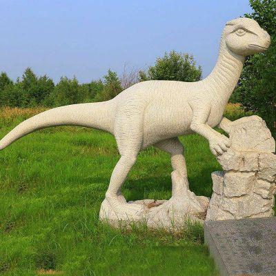 砂岩恐龙石雕