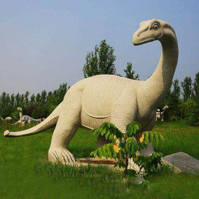 砂岩雷龙石雕恐龙