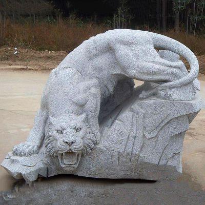 大理石老虎雕塑