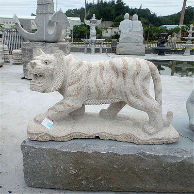 花岗岩老虎石雕