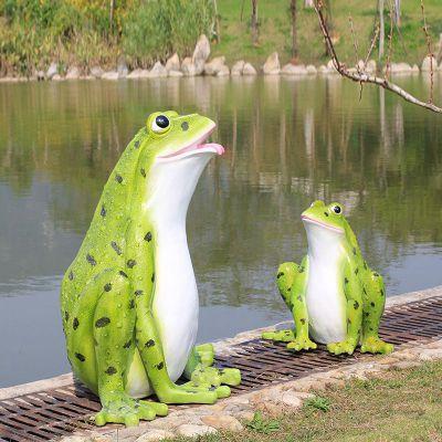 仿真青蛙玻璃钢