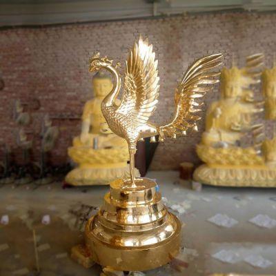 朱雀铜雕塑