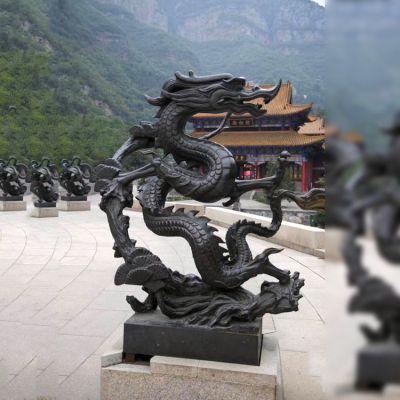 纯铜神兽青龙雕塑