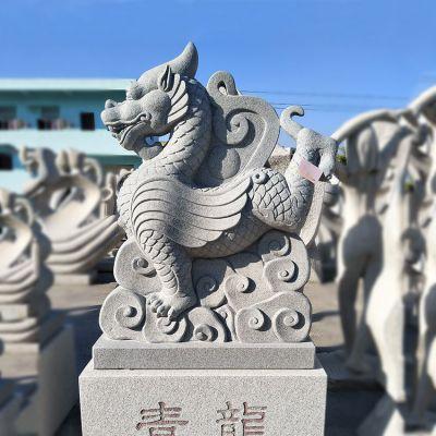 青龙砂岩石雕塑