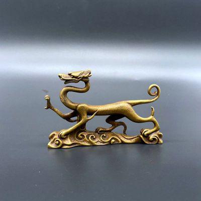 神兽青龙纯铜雕塑