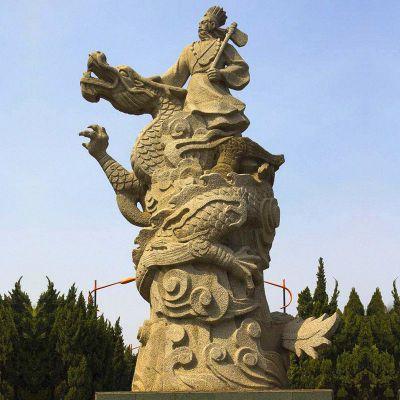 颛顼砂岩石雕像