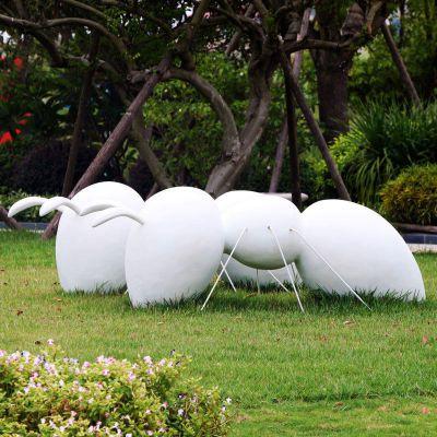 玻璃钢蚂蚁公园雕塑