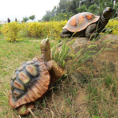 仿真乌龟玻璃钢雕塑