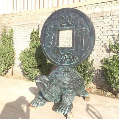 长寿龟仿古铜雕