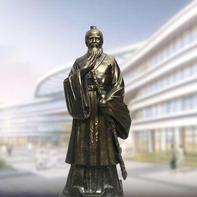 孙思邈铸铜雕像